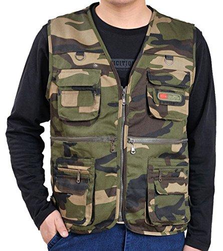 Brvman Men's large size vest - C4 Menu