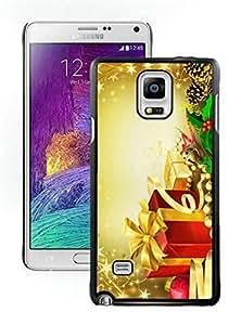 Galaxy note 4 case, Samsung Galaxy note 4 cases,Merry Christmas Samsung Galaxy note 4 Case Black Cover WANGJING JINDA