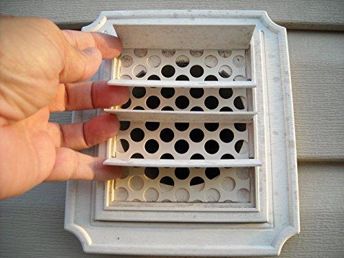 Pkg dryer vent bird guards stop inserts