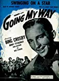 "Swinging On A Star Vintage 1944 Sheet Music from ""Going My Way"" with Bing Crosby"