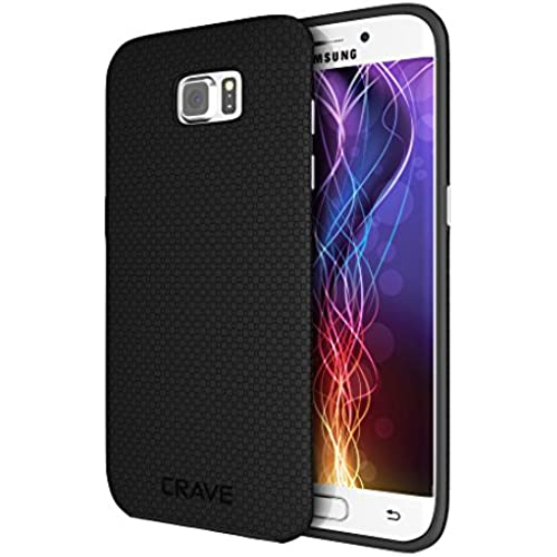 S7 Edge Case, Crave Dual Guard Protection Series Case for Samsung Galaxy S7 Edge - Black Sales