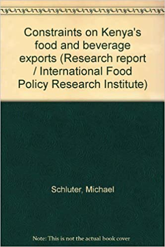 Constraints on Kenya's Food and Beverage Exports: Amazon co