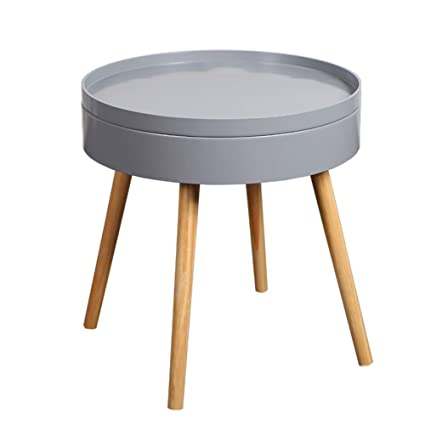 Amazon com: Bseack Small Coffee Table Side Table, Simple Corner