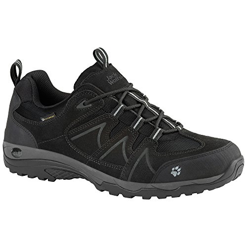 JACK WOLFSKIN TRACTION LOW TEXAPORE PARA HOMBRE - negro