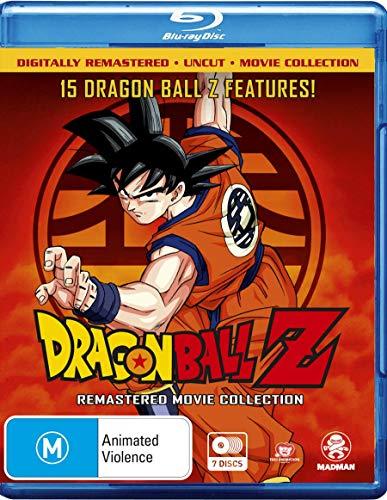 Dragon Ball Z Remastered Movie Collection Uncut | Anime | 7 Discs | NON-USA Format | Region B Import - Australia