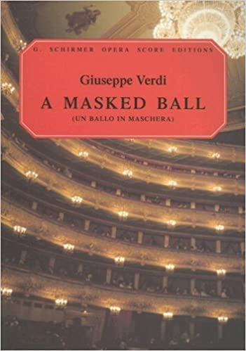_BETTER_ Un Ballo In Maschera (A Masked Ball): Vocal Score (G. Schirmer Opera Score Editions). completa Equipo tendra simple quantum Rubin
