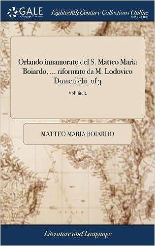 MATTEO MARIA BOIARDO PDF DOWNLOAD