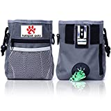 Treat Training Pouch for Dog By Hot Spot Pets - Fits Your Dogs Favorite Treats Toys With Built in Dog Poop Bag Dispenser