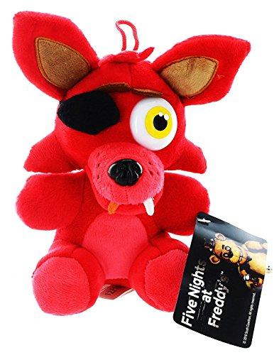 Lusy Store Foxy Plush Freddy Five Nights Cute Red Fox Plush Fnaf Toys Stuffed Animal 10