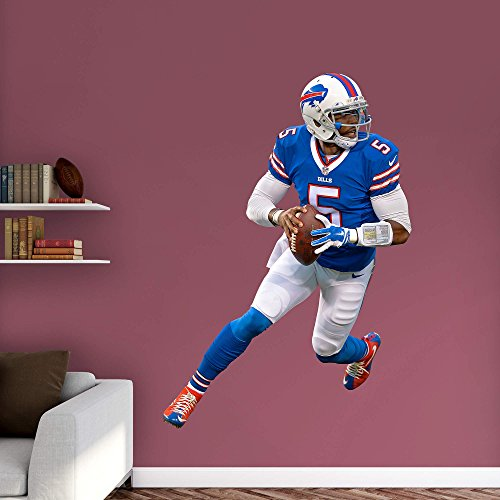 NFL Buffalo Bills Tyrod Taylor 2015 Real Big Sticker by Fathead Peel and Stick Decals