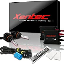 XENTEC 9007(HB5) Flex Bixenon Hi/Lo 6000K 55W Advanced Slim Ballast HID Xenon Kit (Ultra White)