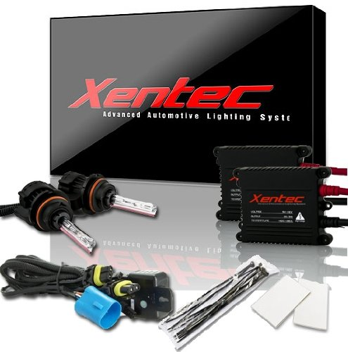 XENTEC 9007 8000K Telescopic Bixenon Hi/Lo Advanced Slim Alloy Ballast HID Xenon Kit (97blbix)