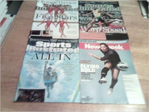 Kostenlose Downloads von Büchern im PDF-Format Lot of Four, 4, 2012 London Summer Olympic Games Sports Magazines-3 Sports Illustrated & 1 Newsweek PDF CHM ePub
