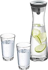 WMF 福腾宝 无铅玻璃冷水壶夏季凉水杯凉水壶玻璃杯套装