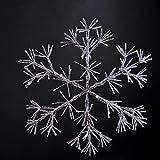 LIGHTSHARE 36Inch 528 Led Starburst Snowflake