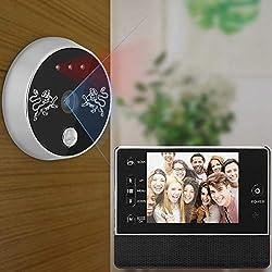 3 5inch Tft Wireless Electronic Doorbell Visual Doorbell Intercom Video Door Bell Interphone Infrared Night Vision 24 Hour Monitoring Home Security