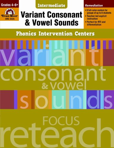 Variant Consonant and Vowel Sounds, Grades 4-6+ (Phonics Intervention Centers Intermediate)]()