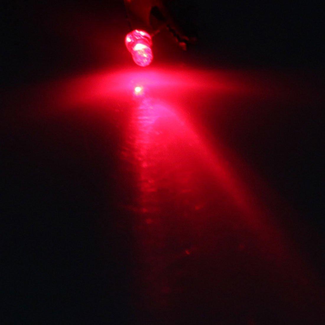 3mm Top 2 Terminales Largas eDealMax 100pcs Red Light Emitting Diode LED bombilla de la lámpara: Amazon.com: Industrial & Scientific