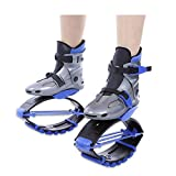 TTLIFE Pogo Sticks Jumping Shoes Kangaroo Kids Adults Outdoor Sports Fitness Shoes Lose Weight Shoes (blue 36-38)