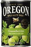 Oregon Fruit Gooseberries, 15 Oz. Can
