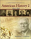 American History 2 (after 1865) - Hardcover Student Edition with CD-ROM, Matthew T. Downey, 0077045173