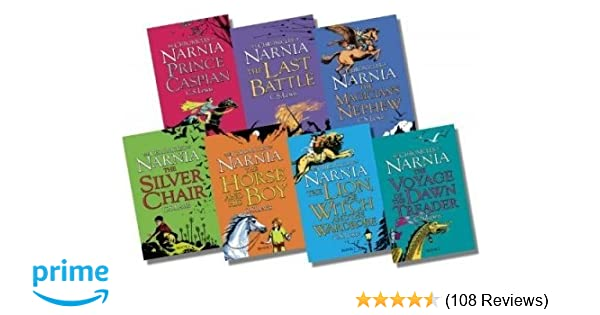 The Complete Chronicles of Narnia ( Boxed Set 7 Books