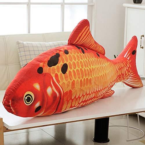 Lalaland12 Others - 20/30cm Colorful Cyprinus Carpio Fish Koi Carp Plush Toy Lifelike Stuffed Aquatic Fishes Plushie Pets Dogs Cats Plush Toy Pillow 1 PCs