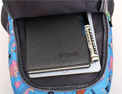 FOLLOWUS - Bolso mochila  para mujer, azul oscuro (azul oscuro) - G72197D Verde