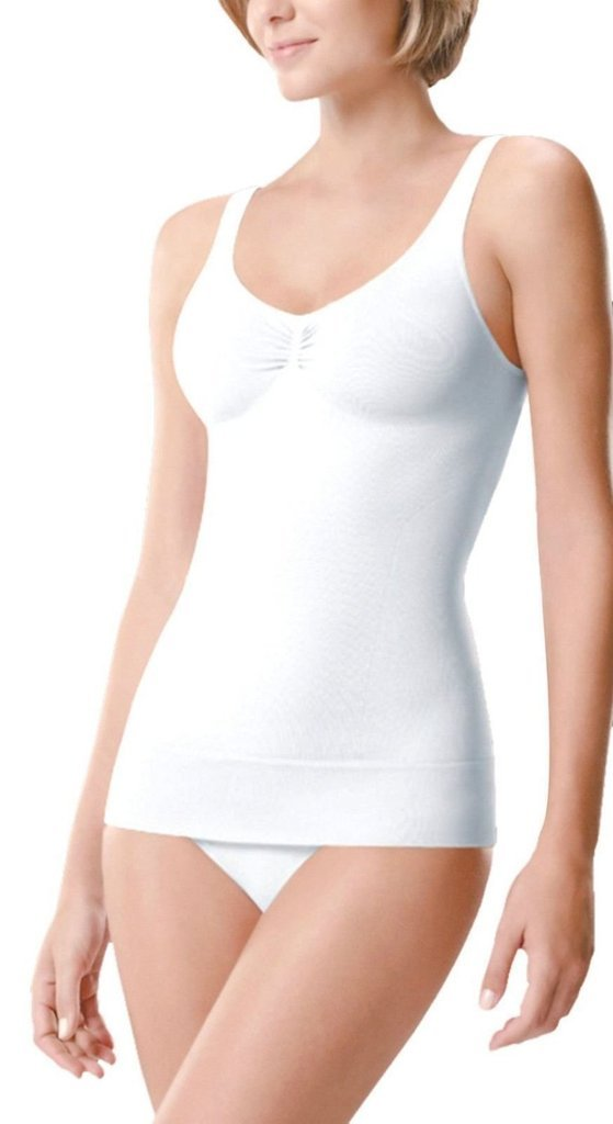 Control Vest Cami Seamless Shapewear Tummy Slimming Body Shaper S M L XL 2XL