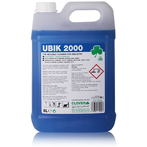 Ubik 2000 Powerful Multi Purpose Degreaser (5L) - Comes With TCH...