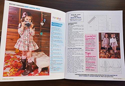 Revista Patrones Infantiles Nº 8 - Patrones De Costura Infantil - Moda Otoño Invierno, 32 Modelos Patrones Niña, Niño y Bebé: Amazon.es: Hogar
