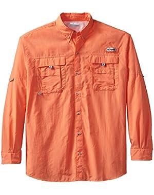 Sportswear Men's Big-Tall Bahama II Long Sleeve Shirt