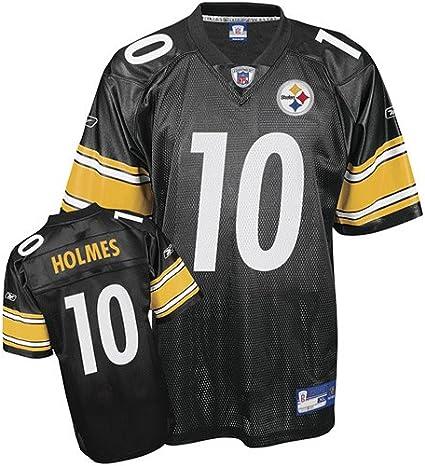 Amazon.com : Reebok Pittsburgh Steelers Santonio Holmes Replica ...