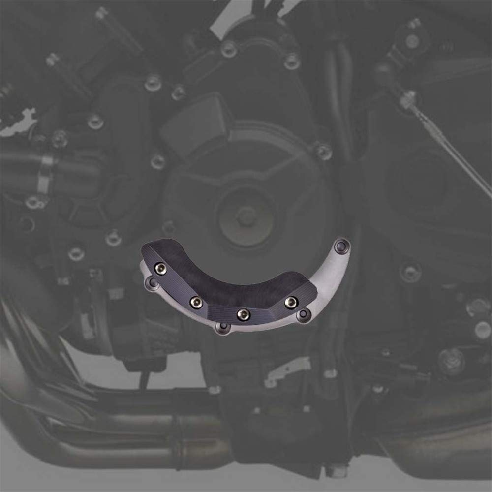 CHUDAN Motorrad Motor Schutz Abdeckung Motor Sliders Protektoren f/ür Yamaha MT09 FZ09 ABS Tracer 2014 2015 2016 2017 2018 CNC Aluminiumlegierung