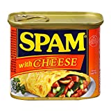 SPAM With Cheese, 12-Ounce Cans (Pack of 6)