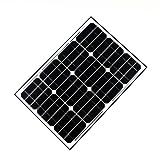 ALEKO Solar Panel Monocrystalline 45W For Any DC 12V Application