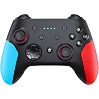 QUMOX Wireless Pro Controller Remote Pro Controller Gamepad Joystick with Dual Vibration, Gyro Axis, Adjustable Turbo…