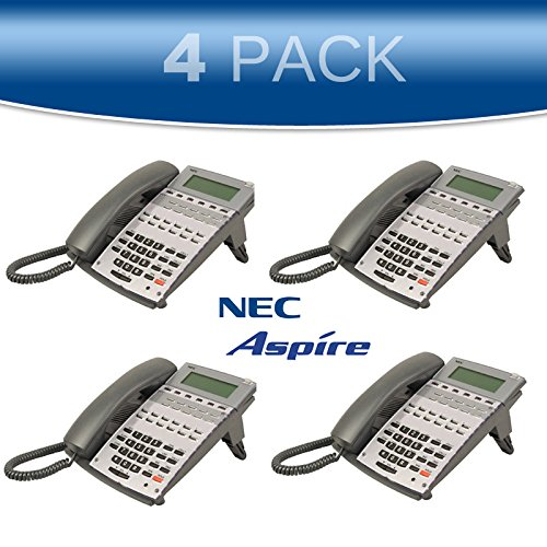 NEC Aspire 4 PACK 22-Button Display Office Phone 0890043 (Nec Aspire 22 Button Display)