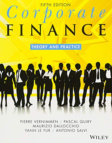Corporate Finance: Theory and Practice (Finance Theory And Practice)
