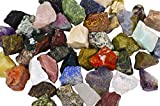 3 lbs of a Bulk Rough Asia Stone Mix - with 40 Exotic Stone Types - Large 1