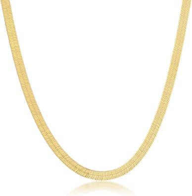 Men 925 Sterling Silver Fancy Rock Chain Necklace Gold Plated made in italy