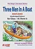 img - for Three Men in a Boat for Class IX (Term I) book / textbook / text book