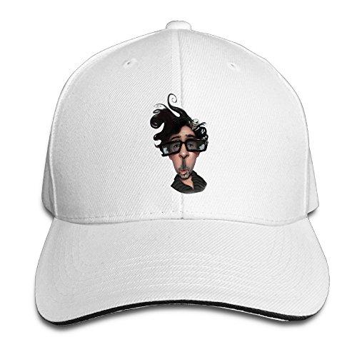nubia-tim-cartoon-burton-sunbonnet-hat-adjustable-cap-white