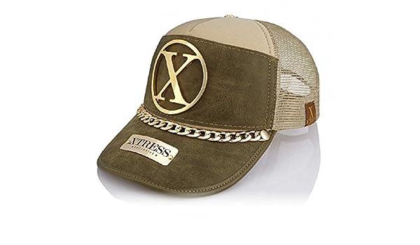 Xtress Exclusive Gorra de color caqui y verde para hombre y mujer ...