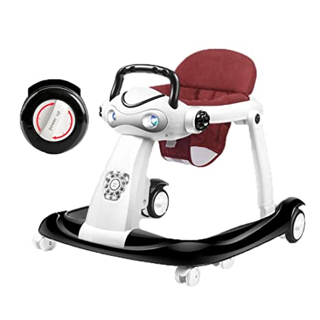 LMSTC Andador para bebés, carrito de actividades anti-O-leg ...