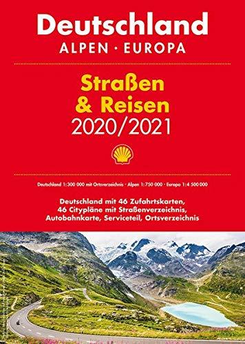 Shell Straßen & Reisen 2020/21 Deutschland 1:300.000, Alpen, Europa (Straßen-store)