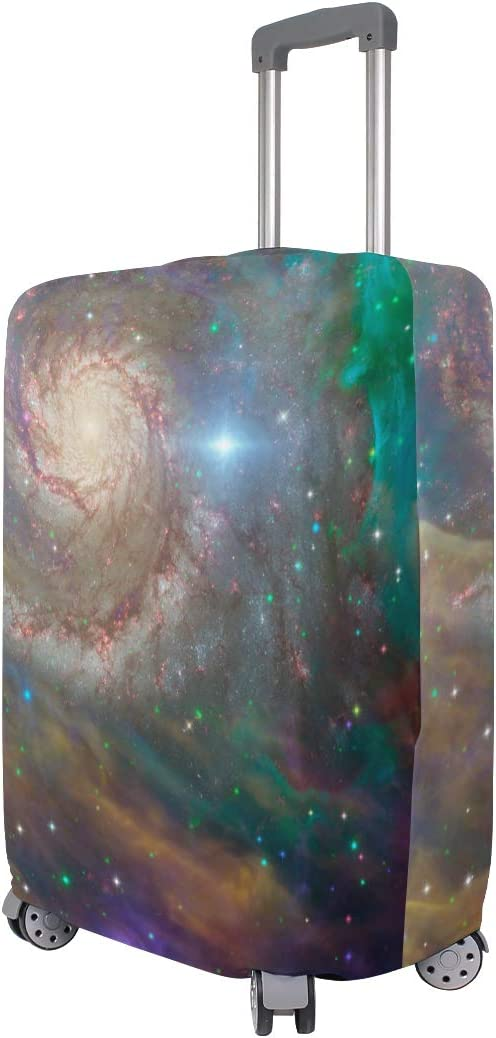 Travel Luggage Cover Universe Night Starry Galaxy Suitcase Protector