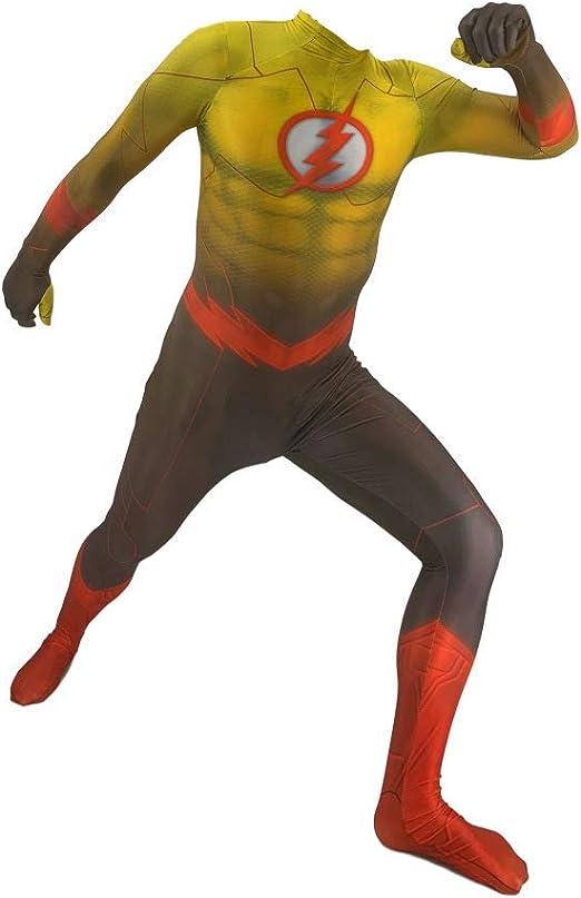POIUYT Superman Disfraz Cosplay Flash Disfraz De Deformación De ...