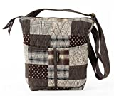Bella Taylor Oxford Hipster Quilted Cotton Cross Body Bag, Bags Central