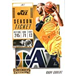2018-19 NBA Contenders Season Ticket #59 Rudy Gobert Utah Jazz Official Basketball.